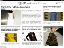 Bergdorf Goodman Comes to Fashion Week on Zite