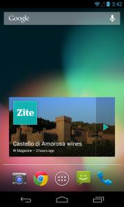 Android_widgetCastle
